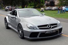 Mercedes-Benz sl65 black edition