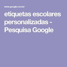 etiquetas escolares personalizadas - Pesquisa Google