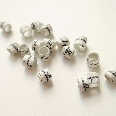Handmade Paper Beads for Jewelry Making