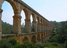 Acueducto Romano  -Tarragona-