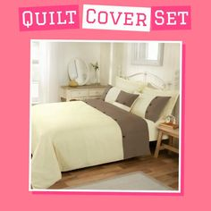 💥🎉 #Fridaydeals On Now at🎉💥 Quilt cover and sheet set  🛍LAY DOWN FOR LESS 🛍   👉 Shop exciting offers on our collection of premium sheet set and quilt cover sets.  👉 Buy Now Pay Later in Slice with - 𝐀𝐟𝐭𝐞𝐫𝐩𝐚𝐲 | 𝐙𝐢𝐩𝐏𝐚𝐲 | 𝐇𝐮𝐦𝐦 | 𝐋𝐚𝐲𝐛𝐮𝐲 | 𝐋𝐚𝐭𝐢𝐭𝐮𝐝𝐞𝐩𝐲 | 𝐏𝐚𝐲𝐢𝐭𝐥𝐚𝐭𝐞𝐫  #quiltcover #sheetset #afterpaystore Quilt Cover Sets, Sheet Sets, Mattress, Quilts, Bed, Shop, Furniture, Collection, Home Decor