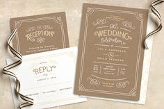 Stylish Wedding Invitations | Win a $1500 Credit from Minted!