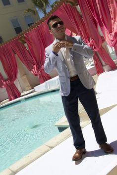 Sacramento Fashion Week's Creative Director, Will Rodriguez. #SACFW Starts tonight! http://sacfashionweek.com