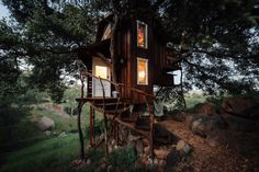 Treehouse in Escondido, California Submitted by Natasha...