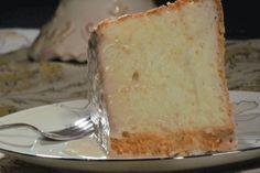 Orange Glazed Angel Food Cake
