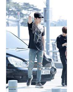 #Sungyeol #Infinite 160401 Incheon Airport♡ ☆