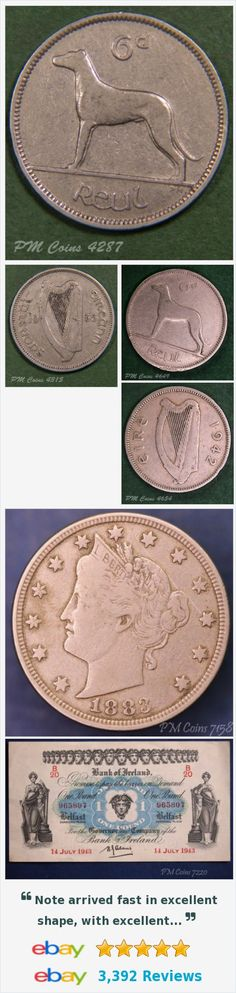 Ireland - Coins and Banknotes, Irish Coins - decimal items in PM Coin Shop store on eBay! http://stores.ebay.co.uk/PM-Coin-Shop