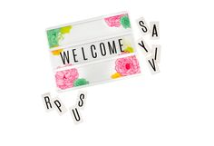 What will your Heidi Swapp Lightbox say?