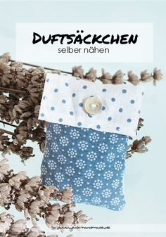 Cute DIY Dufts ckchen in verschiedenen Formen selber n hen und mit Lavendel f llen f r den Kleiderschrank oder
