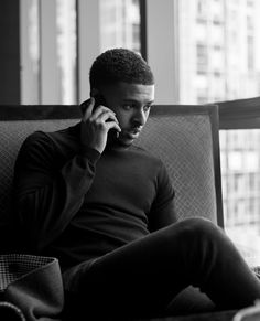 Black Men Beards, Handsome Black Men, Just Beautiful Men, Gorgeous Black Men, Diggy Simmons, Trevor Jackson, Star Wars, American Rappers, Male Photography