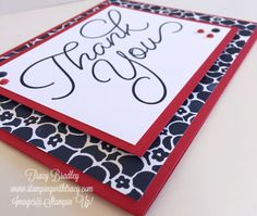 Stamping With Tracy - Stampin' Up! Handmade Thank You Cards, Thank You Gifts, Greeting Cards Handmade, Make Your Own Card, Making Greeting Cards, Cool Business Cards, Stamping Up Cards, Creative Cards, Diy Cards