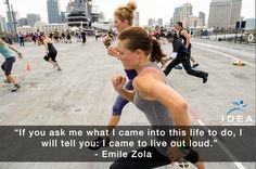 Live your life out loud! #fitspiration