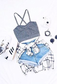 This is the definition of a summer outfit. I am loving this outfit you should try it this summer.