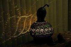 Sold out... 79 €  Authentischen Kürbis Lampen Autentici Lampade Zucca Authentic Gourd Lamp