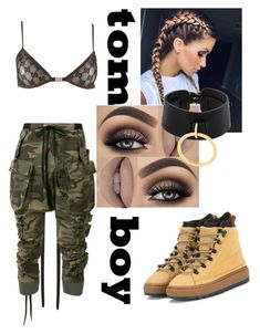 """""""Untitled #133"""" by rawr215 on Polyvore featuring Tom Ford, Unravel, Absidem and Puma"""