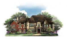 Bernini Estates | Best Selling, Castle House & Home Plans | Archival Designs