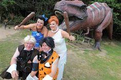 Flintstones wedding theme