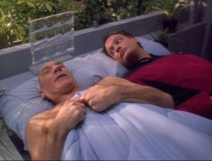 Captain Picard and Q