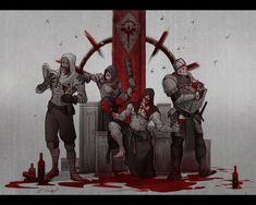 Fantasy Wizard, Fantasy Warrior, Character Concept, Character Art, Concept Art, Dark Fantasy, Fantasy Art, Darkest Dungeon, Dark Memes
