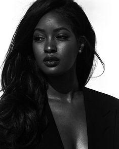 Image may contain: people smiling, one or more people and closeup Beautiful Black Girl, Pretty Black Girls, Sira Kante, Kardashian, Dark Skin Girls, Dark Skin Beauty, Black Girl Aesthetic, Ebony Beauty, Girl Face