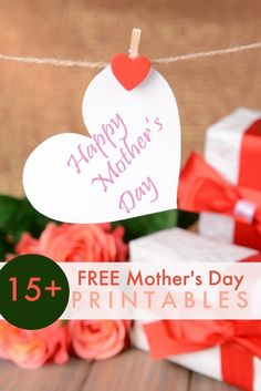 Free Mother's Day Printables www.spaceshipsandlaserbeams.com