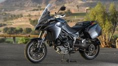On the volcanic roads of Gran Canaria, the bike revealed why Ducati may be king of the sport-touring mountain. Ducati Multistrada, Ducati Motorcycles, Sport Bikes, Motorbikes, Touring, Marvel, Horse, Iron, Babies