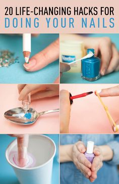 What every woman *needs* to know about doing her nails <3 (Cool Crafts Nail Polish)