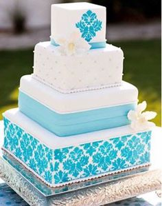love this cake with whatever colors i will chosse fpr my wedding.    This Cake is beautiful, almost to pretty to eat.