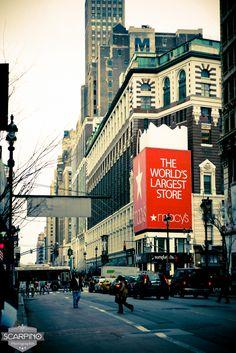 Scarpinophoto.com | New York - Scarpino Photographie Macy's le plus gros magasin au monde!