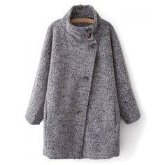 Abrigo gris winter coat