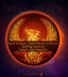 Astrological Predictions for New Moon in Pisces Solar Eclipse, March 9 2016