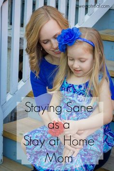 Staying Sane as a Stay at Home Mom. My tips for pouring back into mama so she can stay sane and better care for her family.
