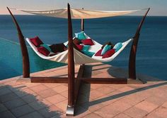 The Cocoon Hammock by Henry Hall Designs