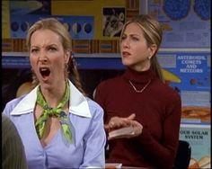 Phoebe & Rachel in school
