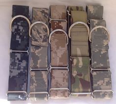 U.S. Military  Martingale Dog Collar 1 And by chiwawagearharnesses