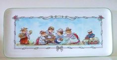Villeroy Boch Foxwood Tales Large Sandwich Tray or Platter Excellent Unused | eBay