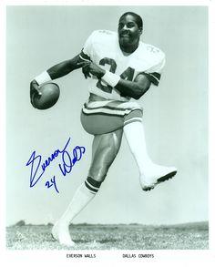 Everson Walls, Dallas Cowboys, Autographed 8x10 Photo