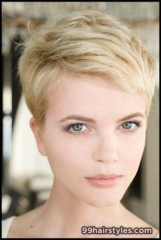 blonde short haircut - 99 Hairstyles Ideas