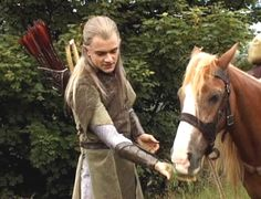 behind the scenes - Orlando Bloom - LoTR
