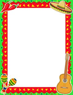 Printable Cinco de Mayo border. Free GIF, JPG, PDF, and PNG downloads at http://pageborders.org/download/cinco-de-mayo-border/