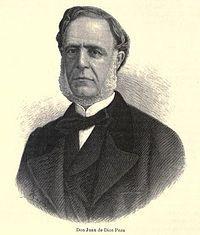 Juan de Dios Peza (México D.F., 29 de junio de 1852 - 16 de marzo de 1910), fue un poeta, político y escritor mexicano. Fue nombrado miembro numerario de la Academia Mexicana de la Lengua, ocupó la silla IX en mayo de 1908