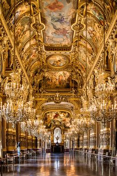 Opera Garnier Salon - Paris