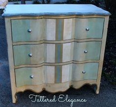 Tattered Elegance: A Dresser deserving of her stripes