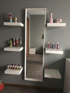 Bedroom Wall Designs, Room Ideas Bedroom, Small Room Bedroom, Home Decor Bedroom, Cute Room Decor, Teen Room Decor, Makeup Room Decor, Home Room Design, Aesthetic Room Decor