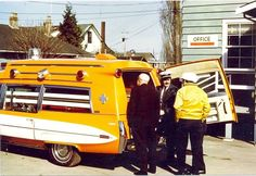 Flower Car, Emergency Vehicles, Fire Department, Police Cars, Ambulance, Cops, Cadillac, Automobile, The Past