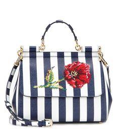 Dolce & Gabbana Miss Sicily Medium Embroidered Leather Tote   MYTHERESA USA saved by #ShoppingIS