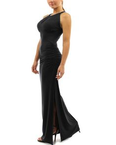Huafeiwude Womens Sexy Slit Long Maxi Bodycon Dresses Evening Party Dresses * You can find more details by visiting the image link. (This is an affiliate link and I receive a commission for the sales)