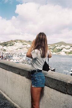 Grey Tee + Cut offs <3 This is a Classic For Summer