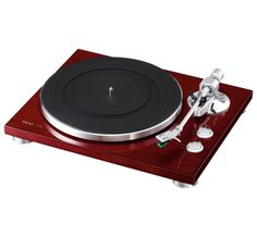 Teac TN-300 Turntable; $ 600.00 , The TN-300 is a belt-drive analog record player with a stylish and luxurious chassis containing an MM Phono equalizer amplifier with USB output. The TN-300 supports Phono and Line output, which allows you to play vinyl with a stereo that isn't equipped with Phono input, and Phono equalizer amplifier of your hands.