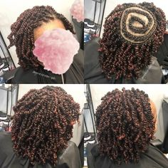 Long Spring Twist Hair Extensions in various colors: (black), 2 (dark brown), 4 (brown), 280 and more. Twist Braid Hairstyles, Crochet Braids Hairstyles, Twist Braids, Loose Hairstyles, Black Hairstyles, Braid Ponytail, Spring Twists, Spring Twist Hair, Natural Hair Twist Out